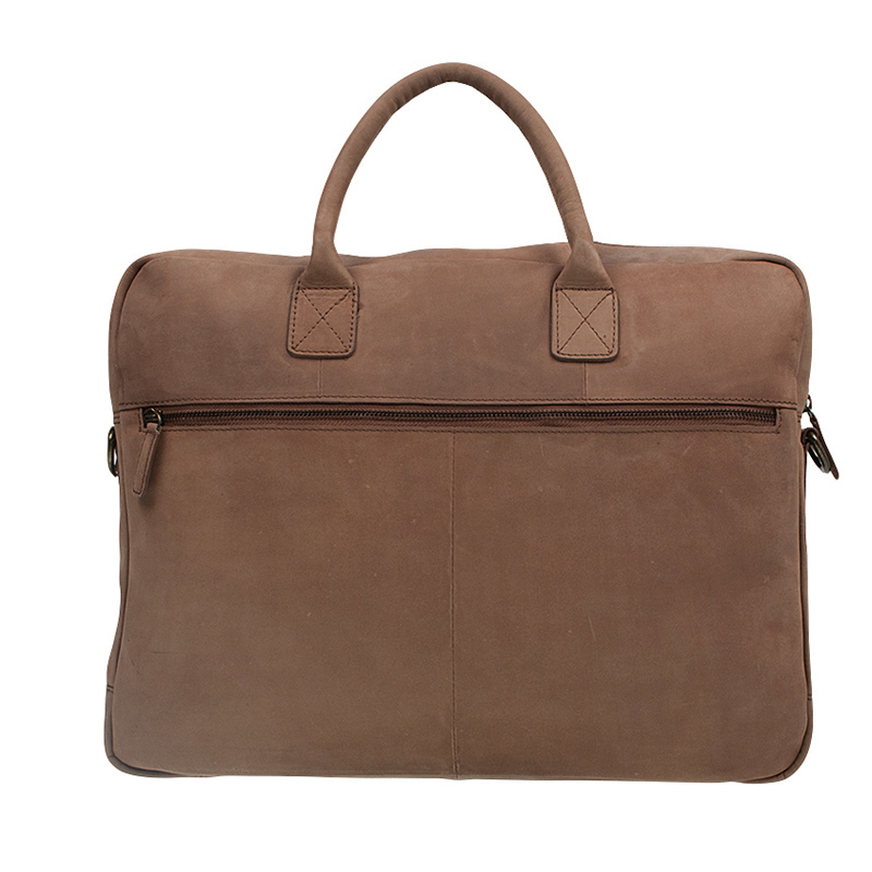 """Burkely Laptop Bag 17"""" Cognac-67528"""