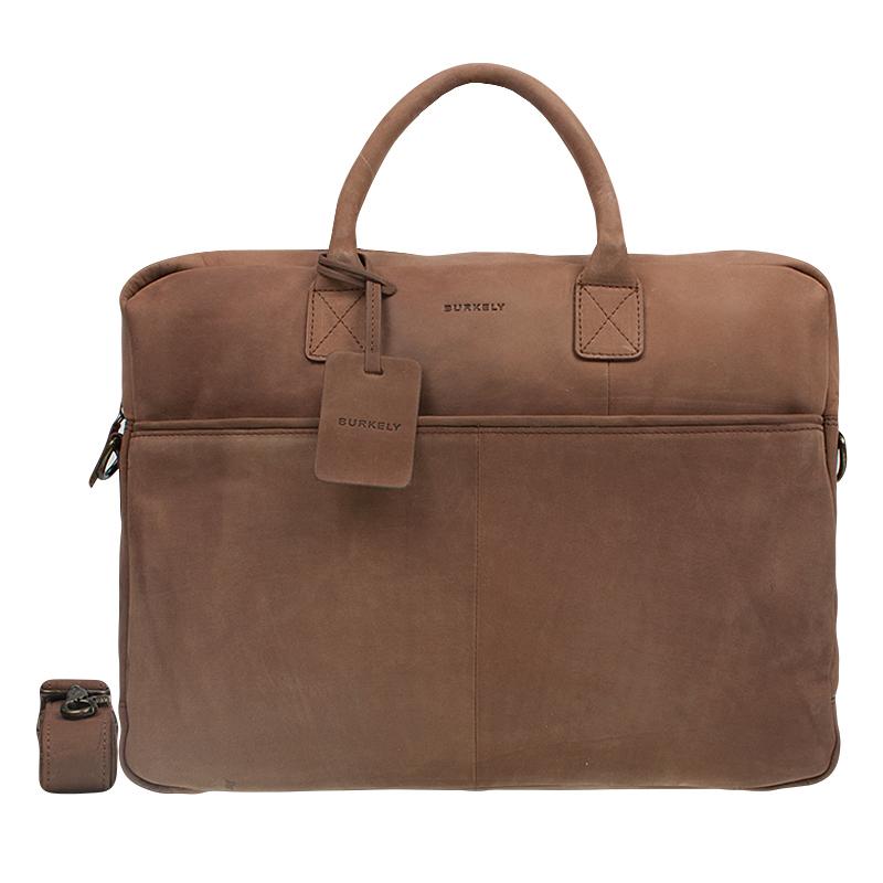 """Burkely Laptop Bag 17"""" Cognac-0"""