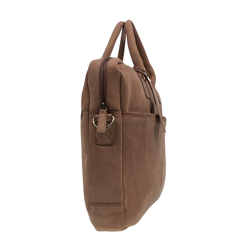 """Burkely Laptop Bag 17"""" Cognac-67530"""