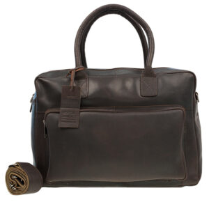 Burkely Vintage Mitch Laptoptas Dark Brown