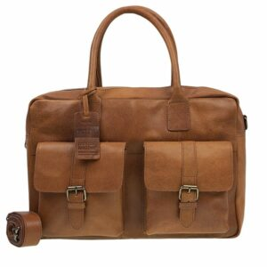 Burkely Vintage Finn Laptoptas Cognac-138207