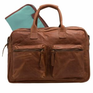 Cowboysbag The Diaperbag Cognac-0