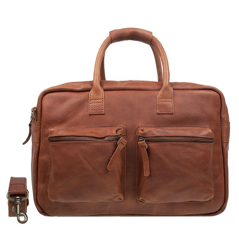Cowboysbag The College Bag Cognac-0