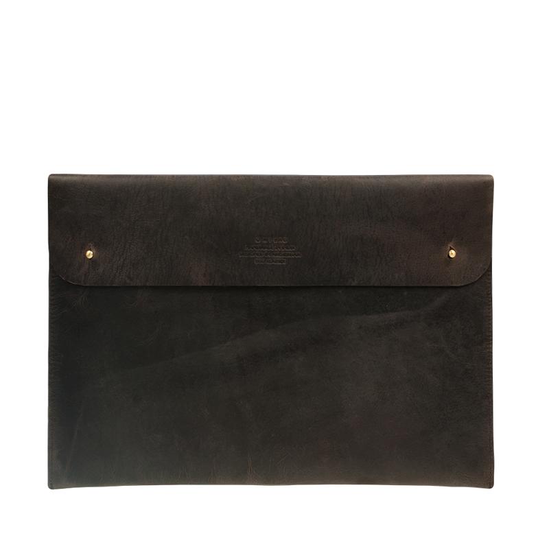 O My Bag Laptop Sleeve 15inch Dark Brown-0