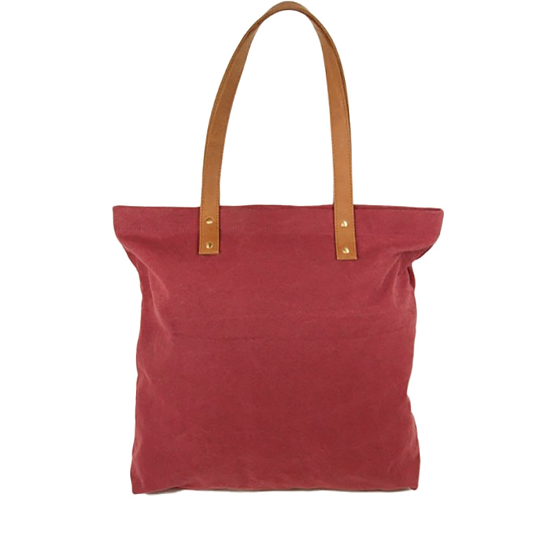 O My Bag Lou's Big Bag Burgundy Canvas-66728