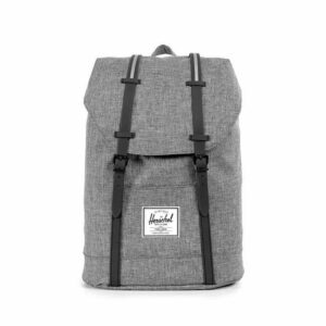 Herschel Retreat Raven Crosshatch/Black-0