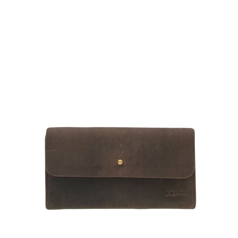 O My Bag Pixies Pouch Dark Brown-0