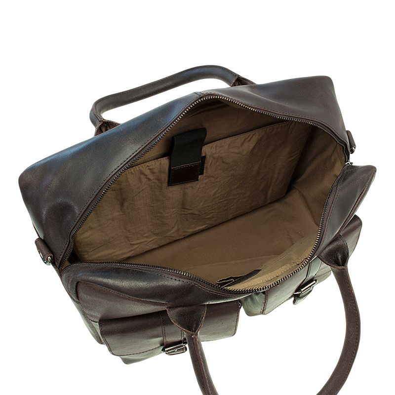 Burkely Vintage Finn Laptoptas Dark Brown-76910