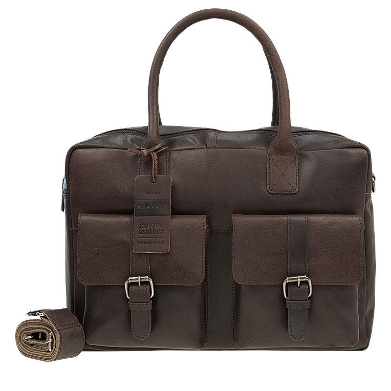 Burkely Vintage Finn Laptoptas Dark Brown-76911