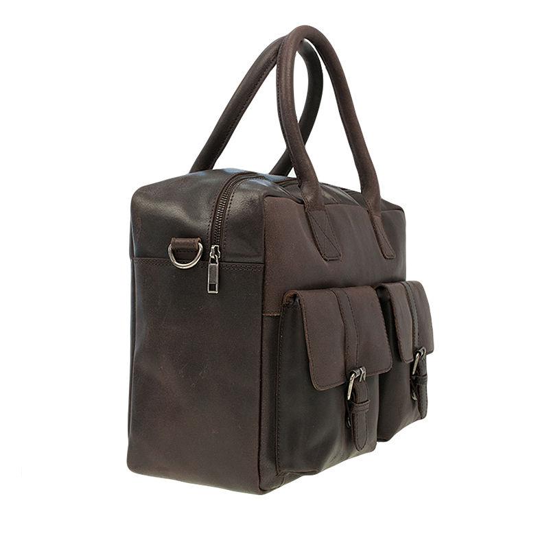 Burkely Vintage Finn Laptoptas Dark Brown-76907