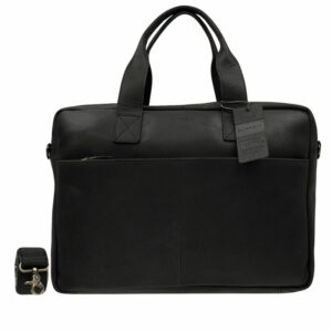 Burkely Vintage River Laptoptas Black