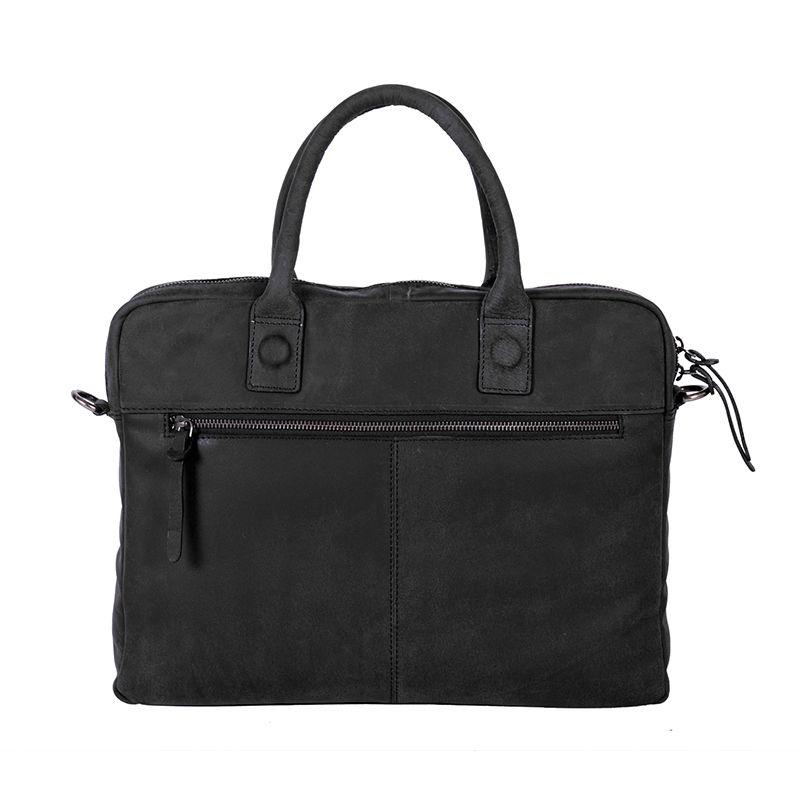 "DSTRCT Wall Street 14"" Laptop Bag Black-85078"