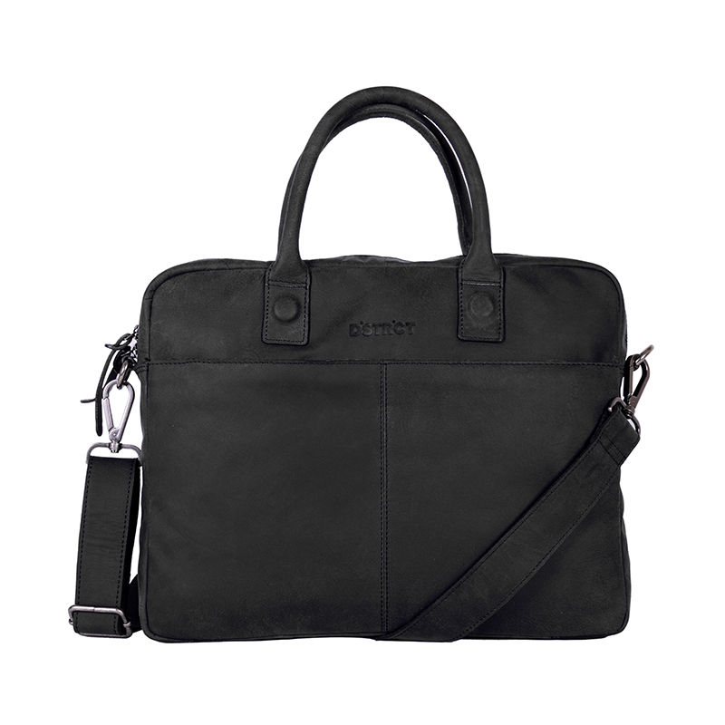 "DSTRCT Wall Street 14"" Laptop Bag Black-0"