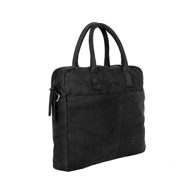 "DSTRCT Wall Street 14"" Laptop Bag Black-85079"