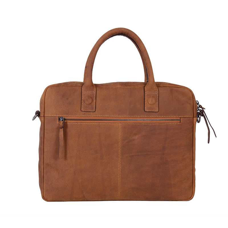 "DSTRCT Wall Street 14"" Laptop Bag Cognac-85069"