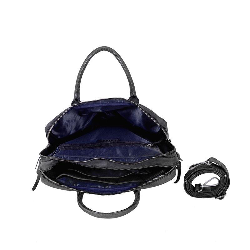 "DSTRCT Wall Street 15"" Laptop Bag Black-85486"