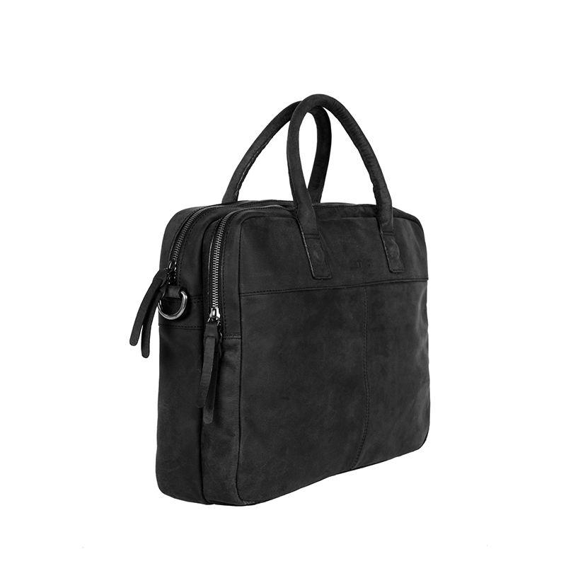 "DSTRCT Wall Street 15"" Laptop Bag Black-85487"