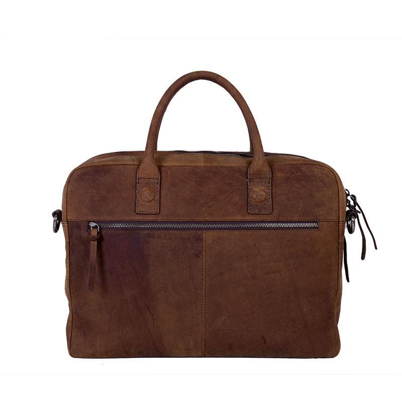 "DSTRCT Wall Street 15"" Laptop Bag Brown-85438"