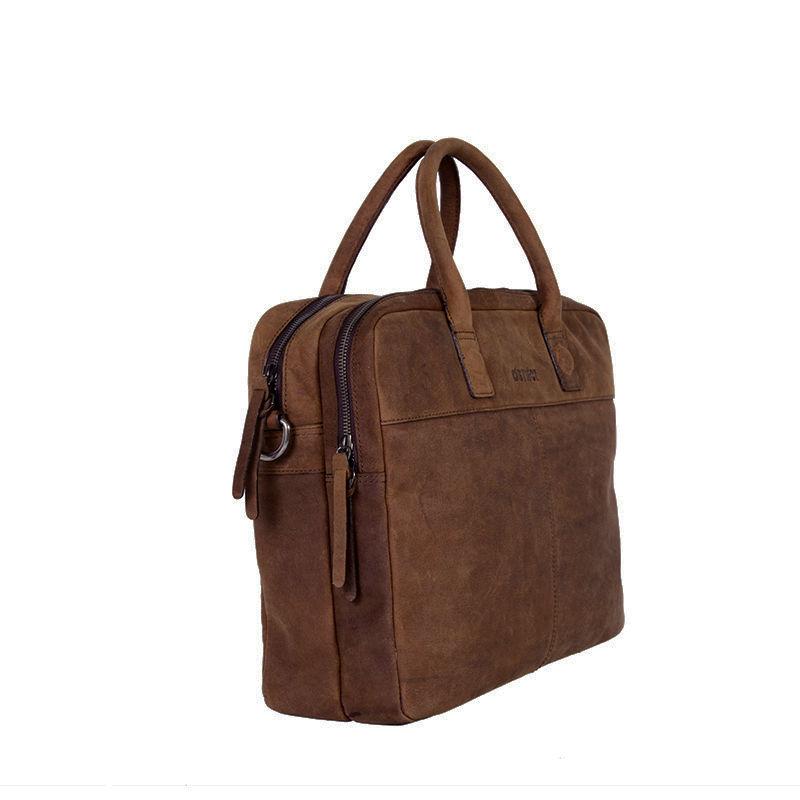 "DSTRCT Wall Street 15"" Laptop Bag Brown-85437"