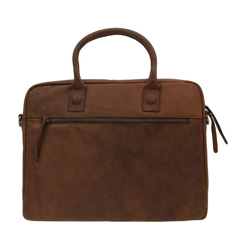 "DSTRCT Wall Street 14"" Laptop Bag Brown-85465"