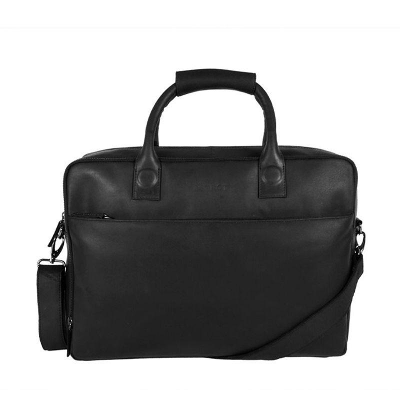 DSTRCT Fletcher Street 17'' Business Bag Zipper Black-0