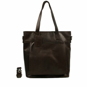Burkely Vintage Jade Shopper Dark Brown-0