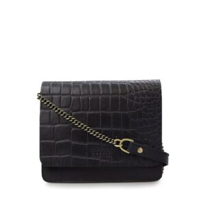 O My Bag Audrey Mini Limited Eco Classic Black/Croco-0