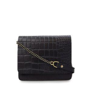 O My Bag Audrey Mini Limited Eco Classic Black/Croco-0