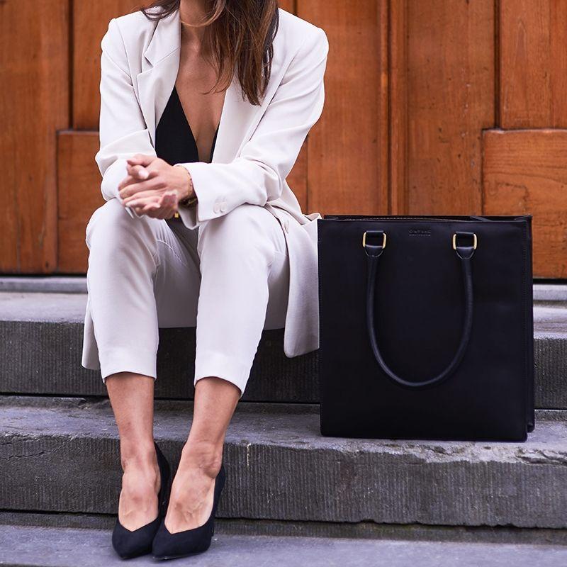 O My Bag Mila Shopper Eco Classic Black-120655