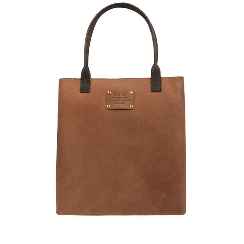 O My Bag Posh Stacey Midi Camel-0