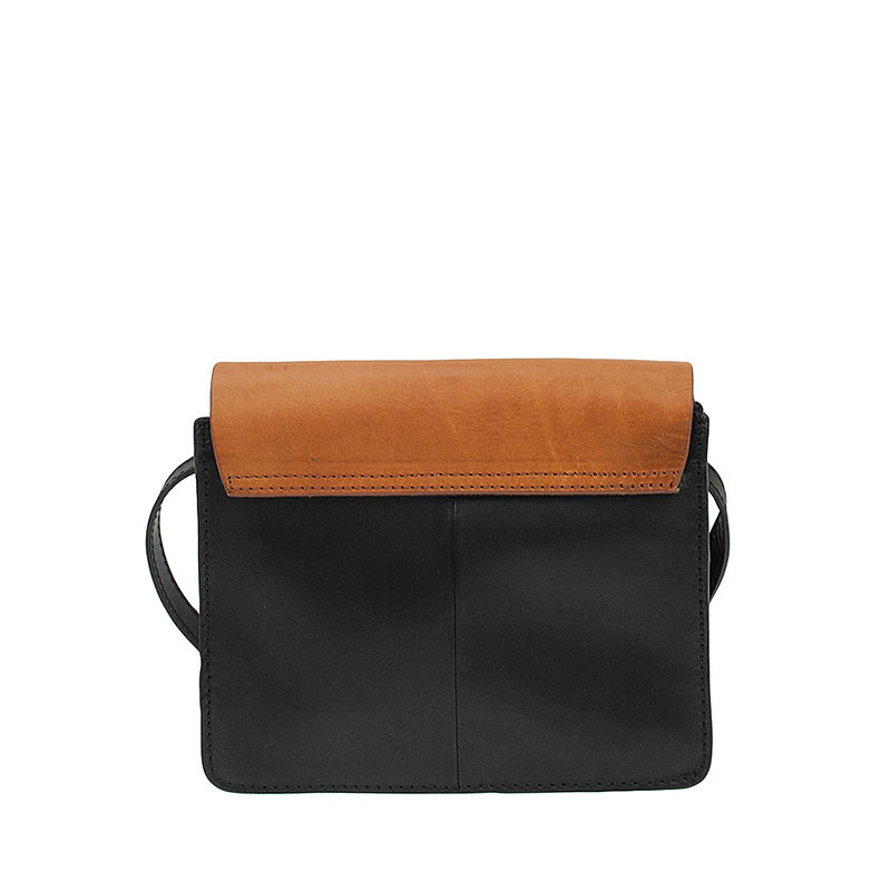 O My Bag Audrey Mini Eco Classic Black/Camel-103270