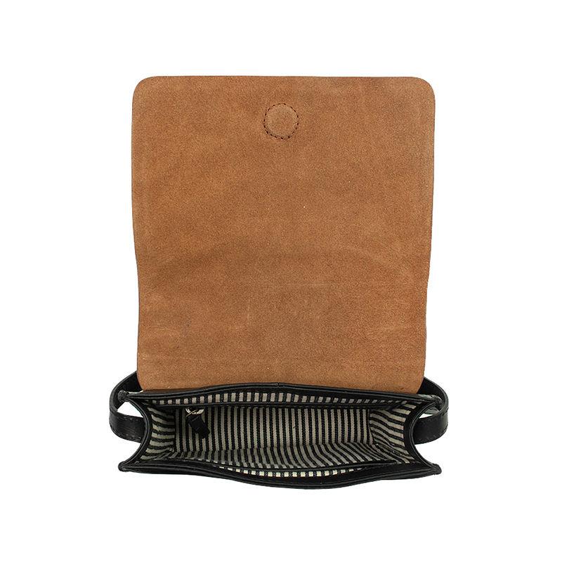O My Bag Audrey Mini Eco Classic Black/Camel-103272