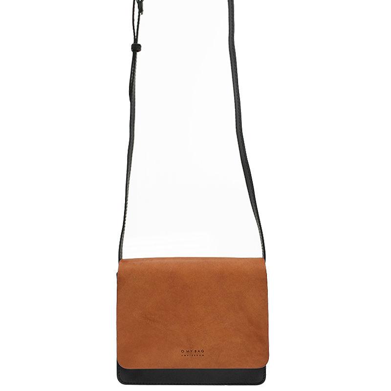 O My Bag Audrey Mini Eco Classic Black/Camel-103273