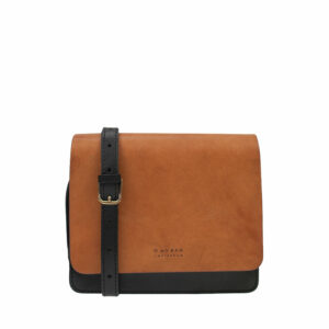 O My Bag Audrey Mini Eco Classic Black/Camel-0