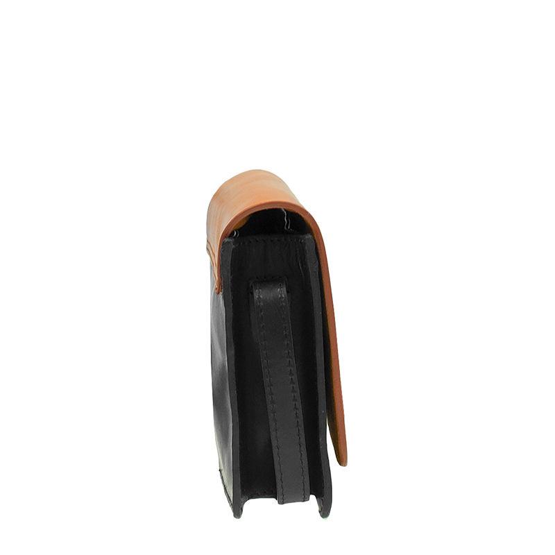O My Bag Audrey Mini Eco Classic Black/Camel-103274