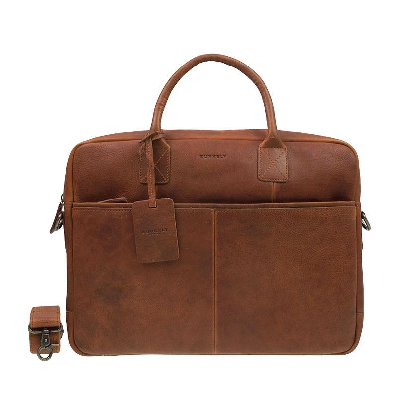 "Burkely Antique Avery Laptoptas 15"" Cognac-0"
