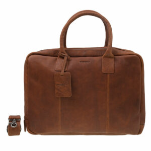 """Burkely Antique Avery Worker 15"""" Cognac-0"""