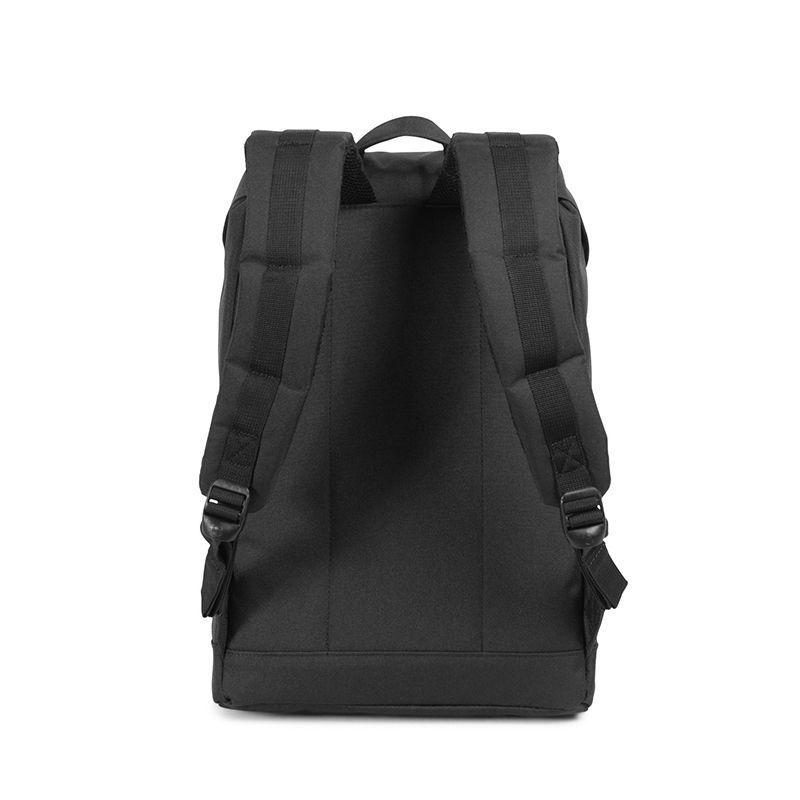 Herschel Retreat Mid-Volume Black / Tan Leather-105904