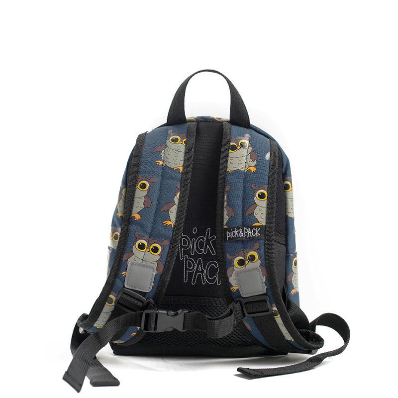 Pick & Pack Backpack Mini Owl Blue-107336