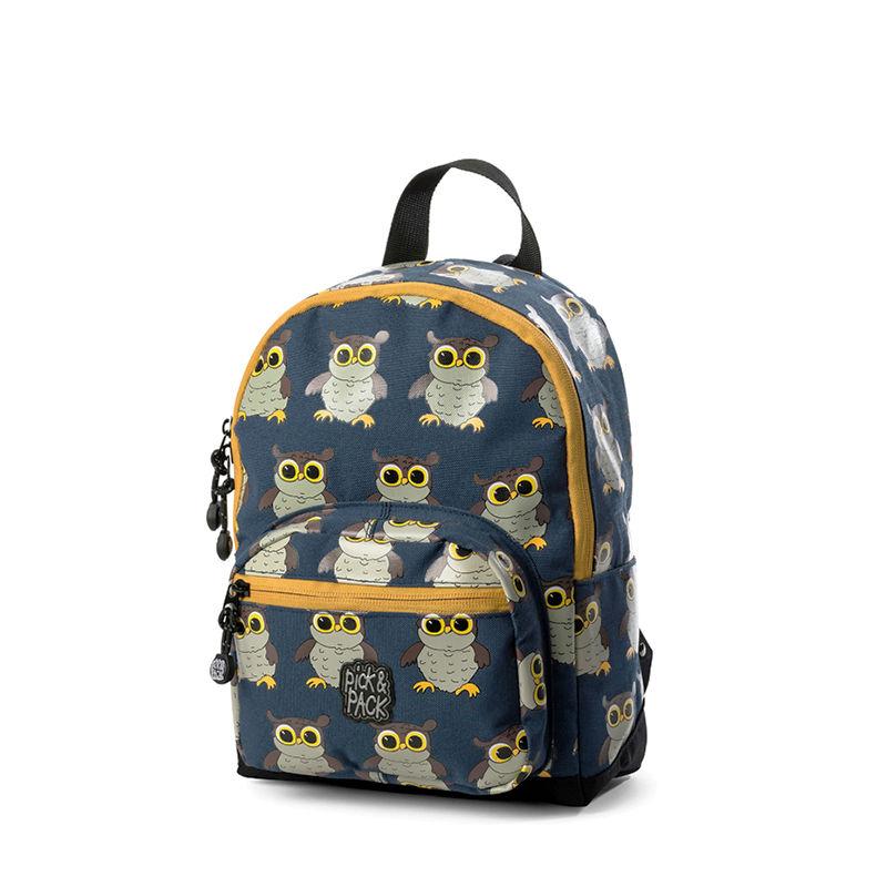 Pick & Pack Backpack Mini Owl Blue-0