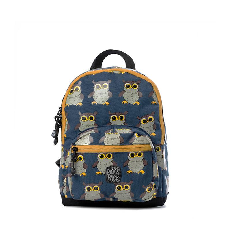Pick & Pack Backpack Mini Owl Blue-107337