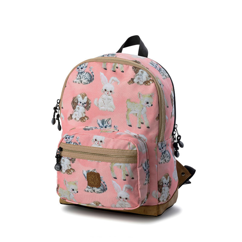 Pick & Pack Backpack Cute Animals Coral-0