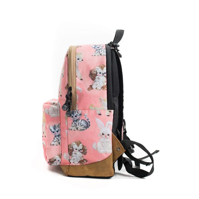 Pick & Pack Backpack Cute Animals Coral-107378