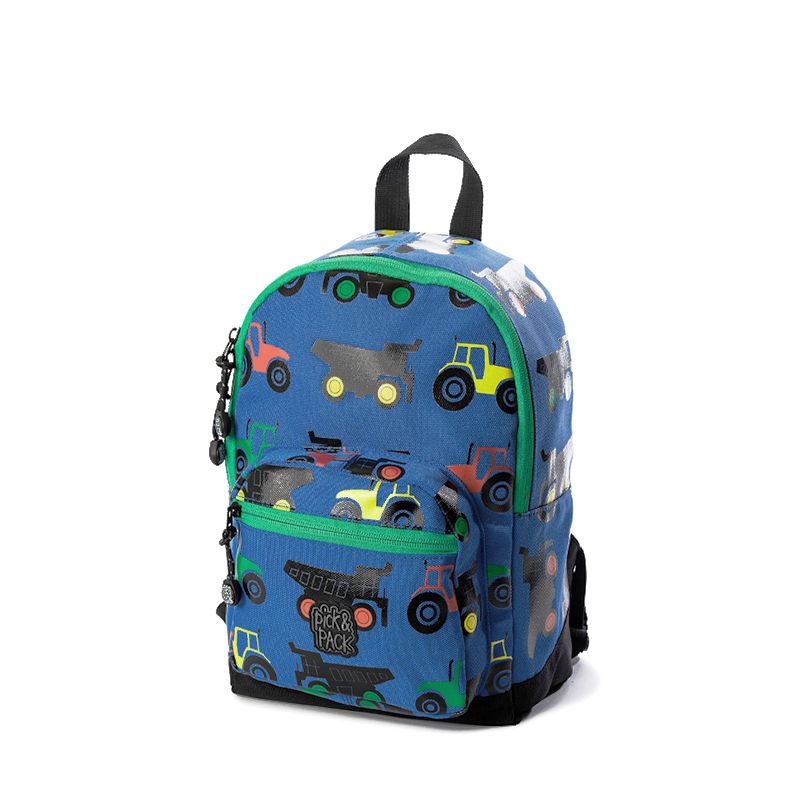 Pick & Pack Mini Backpack Tractor Blue-0