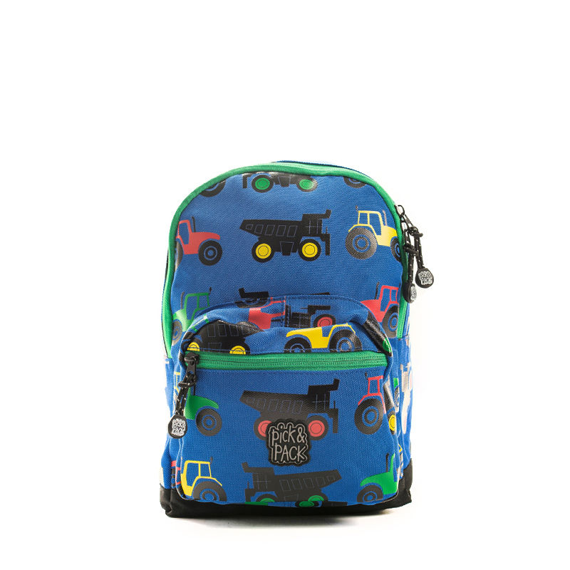 Pick & Pack Mini Backpack Tractor Blue-107357