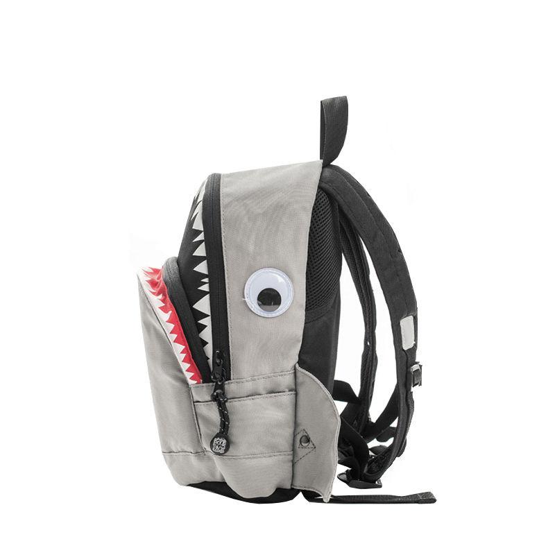 Pick & Pack Backpack Shark Shape Grey-107319