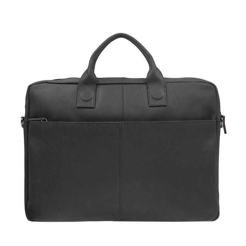 DSTRCT Fletcher Street 17'' Business Bag Black-107453