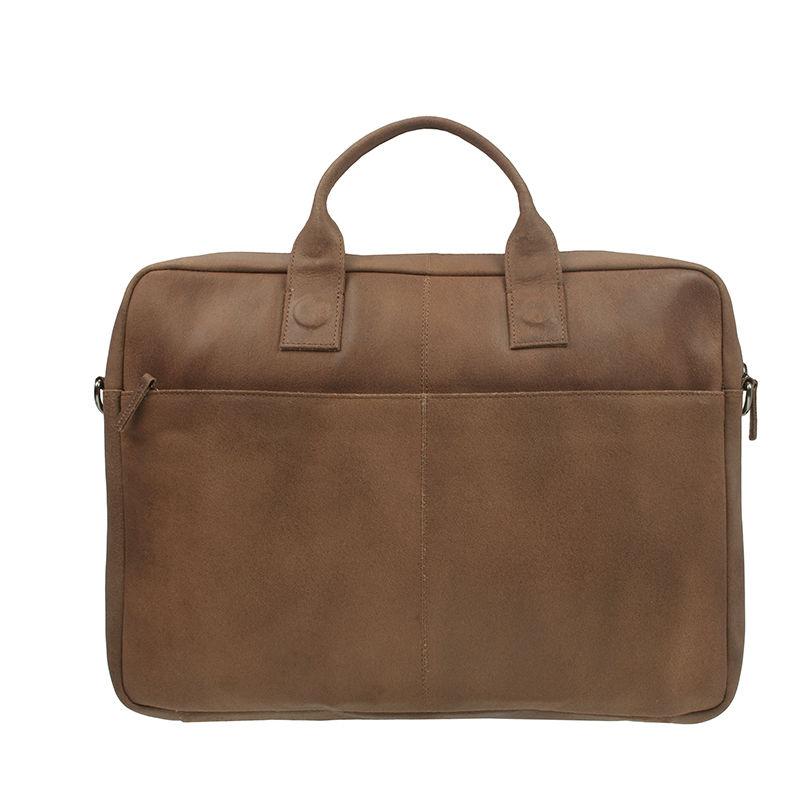 DSTRCT Fletcher Street 17'' Business Bag Cognac-107418