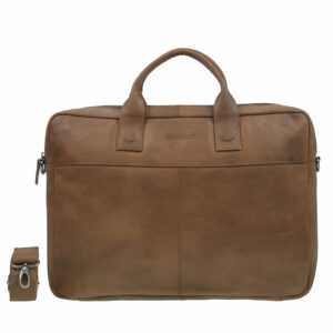 "DSTRCT Fletcher Street 17"" Business Bag Cognac"