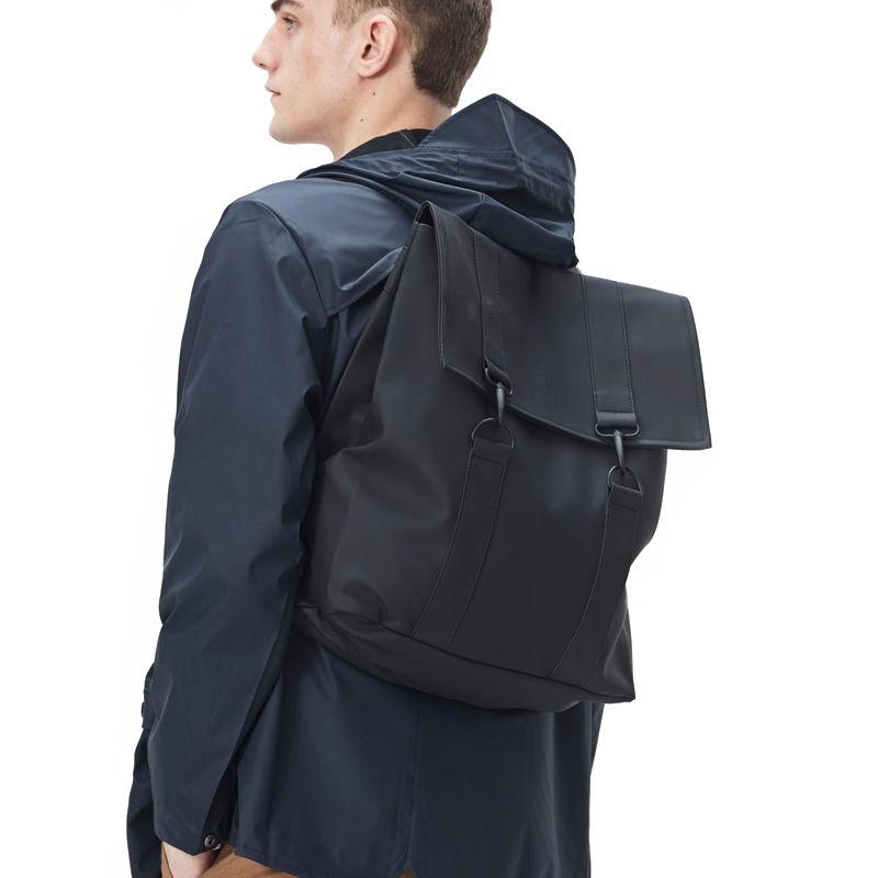 RAINS Msn Bag Black-109414